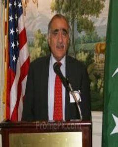 Gen. (R) Mehmood Ali Durrani